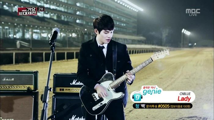 CNBLUE - Lady, I'm Sorry @MBC Gayo Daejun 131231 .goyh0622 039