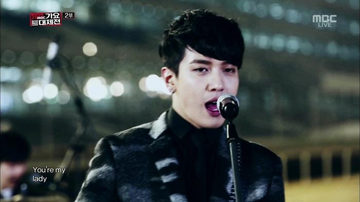 CNBLUE - Lady, I'm Sorry @MBC Gayo Daejun 131231 .goyh0622 055