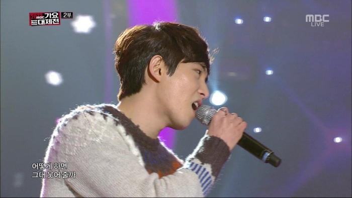 Romantic J - Love Falls @MBC Gayo Daejun 131231 .goyh0622 072