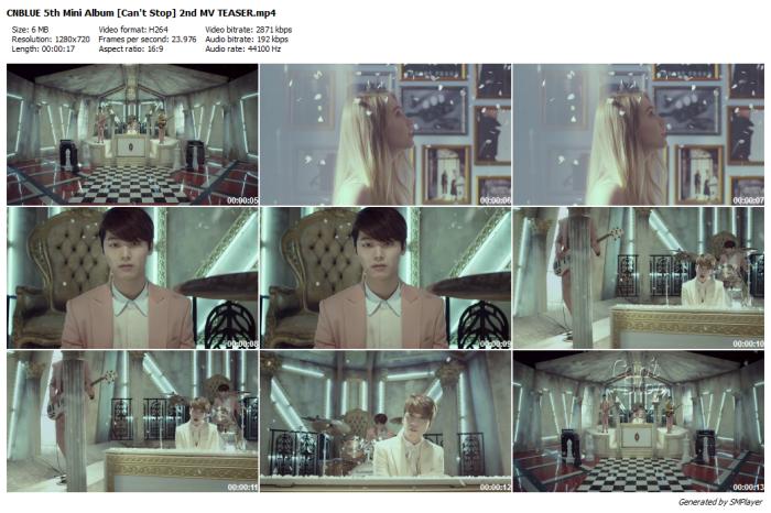 CNBLUE 5th Mini Album [Can't Stop] 2nd MV TEASER
