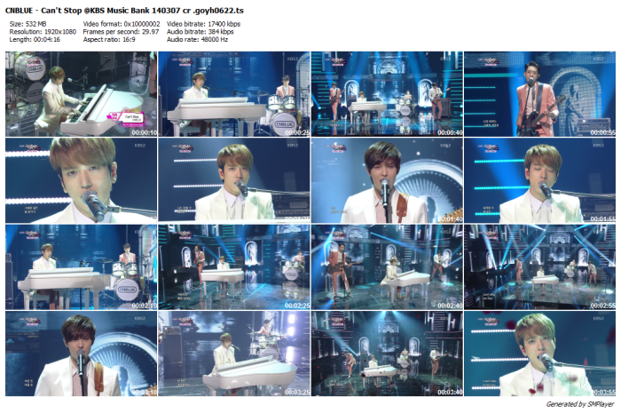 CNBLUE - Can't Stop @KBS Music Bank 140307 cr .goyh0622_preview