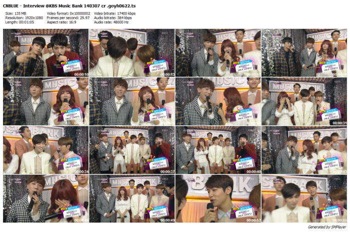 CNBLUE - Interview @KBS Music Bank 140307 cr .goyh0622_preview