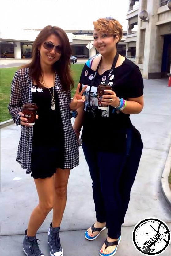 Sophia & Mari at LAX