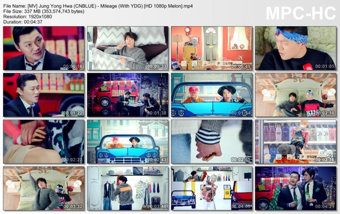 [MV] Jung Yong Hwa (CNBLUE) - Mileage (With YDG) [HD 1080p Melon].mp4
