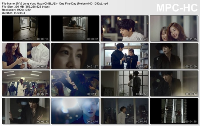 [MV] Jung Yong Hwa (CNBLUE) - One Fine Day (Melon) (HD-1080p).mp4